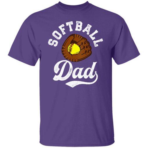 Best Softball Gift Shirt 2021 Softball Dad T Shirt T-Shirt 6 of Sapelle
