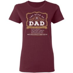 Best Funny Fathers Day Gift 2021 Bank Of Dad T-Shirt 33 of Sapelle