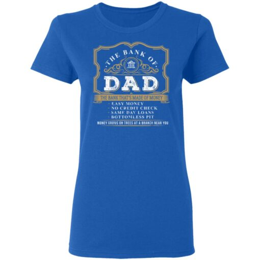 Best Funny Fathers Day Gift 2021 Bank Of Dad T-Shirt 14 of Sapelle
