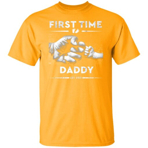 Best First Fathers Day Gift 2021 First Time Dad T-Shirt 3 of Sapelle
