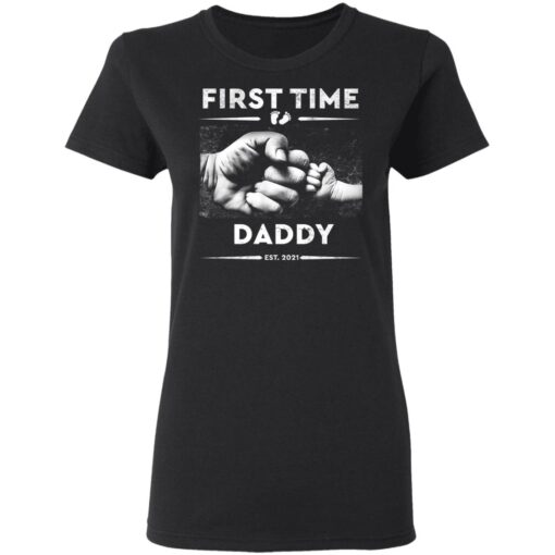 Best First Fathers Day Gift 2021 First Time Dad T-Shirt 8 of Sapelle