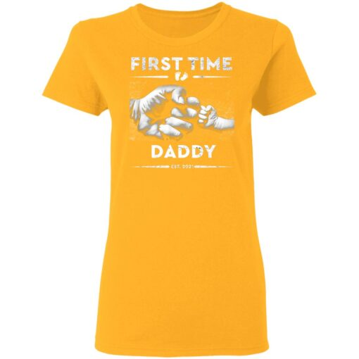Best First Fathers Day Gift 2021 First Time Dad T-Shirt 10 of Sapelle