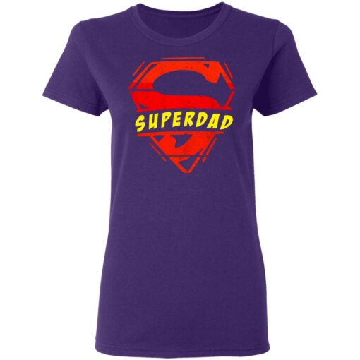 Best Fathers Day Gift 2021 Fathers Day Superhero T-Shirt 13 of Sapelle