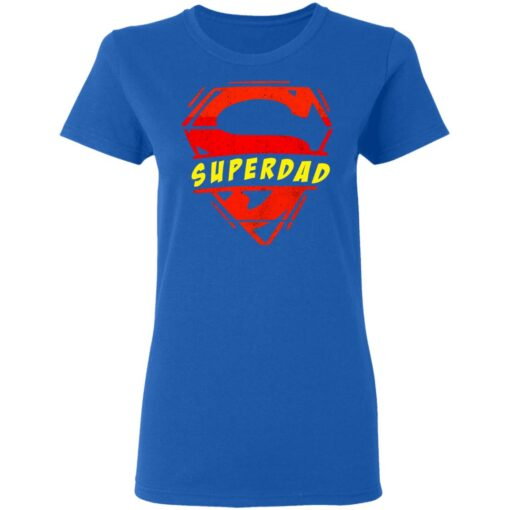 Best Fathers Day Gift 2021 Fathers Day Superhero T-Shirt 14 of Sapelle