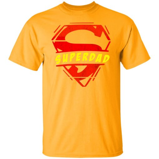 Best Fathers Day Gift 2021 Fathers Day Superhero T-Shirt 3 of Sapelle