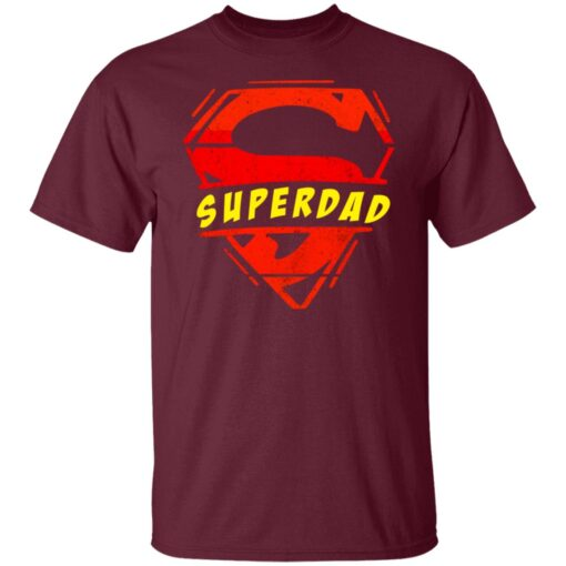 Best Fathers Day Gift 2021 Fathers Day Superhero T-Shirt 4 of Sapelle