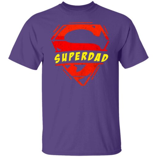 Best Fathers Day Gift 2021 Fathers Day Superhero T-Shirt 6 of Sapelle