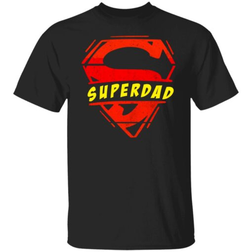 Best Fathers Day Gift 2021 Fathers Day Superhero T-Shirt 1 of Sapelle