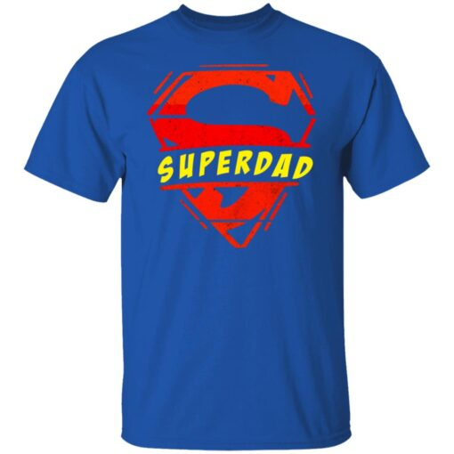 Best Fathers Day Gift 2021 Fathers Day Superhero T-Shirt 7 of Sapelle