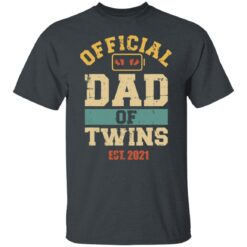 Best Dad Of Twins Gifts 2021 Dad Of Twins T-Shirt 15 of Sapelle