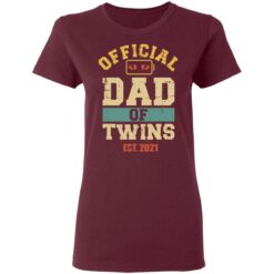 Best Dad Of Twins Gifts 2021 Dad Of Twins T-Shirt 33 of Sapelle