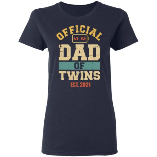 Best Dad Of Twins Gifts 2021 Dad Of Twins T-Shirt 12 of Sapelle