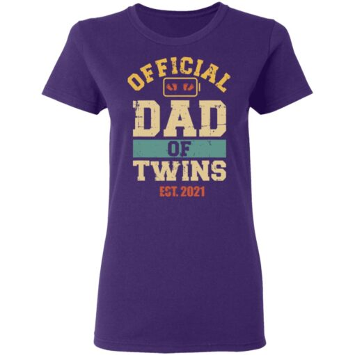 Best Dad Of Twins Gifts 2021 Dad Of Twins T-Shirt 13 of Sapelle