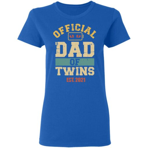 Best Dad Of Twins Gifts 2021 Dad Of Twins T-Shirt 14 of Sapelle