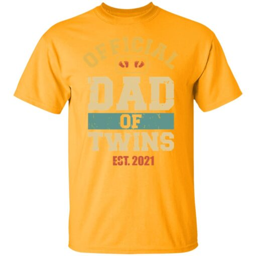 Best Dad Of Twins Gifts 2021 Dad Of Twins T-Shirt 3 of Sapelle
