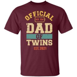 Best Dad Of Twins Gifts 2021 Dad Of Twins T-Shirt 19 of Sapelle