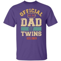 Best Dad Of Twins Gifts 2021 Dad Of Twins T-Shirt 23 of Sapelle