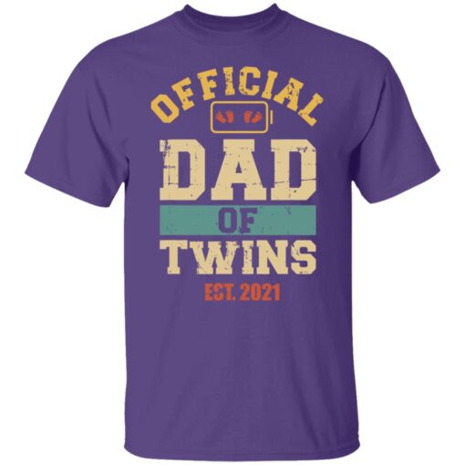 Best Dad Of Twins Gifts 2021 Dad Of Twins T-Shirt 6 of Sapelle