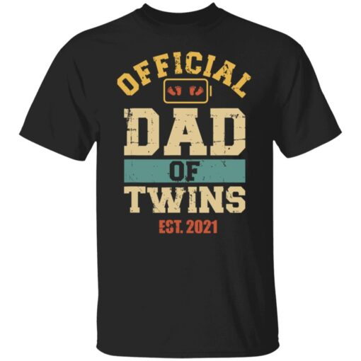 Best Dad Of Twins Gifts 2021 Dad Of Twins T-Shirt 1 of Sapelle
