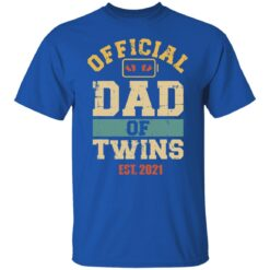 Best Dad Of Twins Gifts 2021 Dad Of Twins T-Shirt 25 of Sapelle