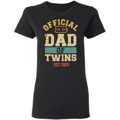 Best Dad Of Twins Gifts 2021 Dad Of Twins T-Shirt 27 of Sapelle
