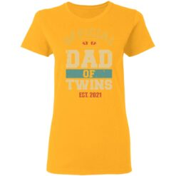Best Dad Of Twins Gifts 2021 Dad Of Twins T-Shirt 31 of Sapelle