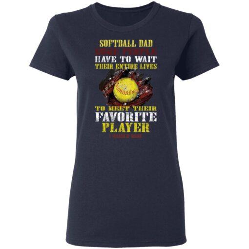 Best Softball Gift Shirt 2021 Softball Dad T Shirt T-Shirt 12 of Sapelle