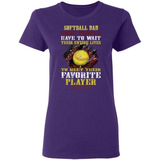 Best Softball Gift Shirt 2021 Softball Dad T Shirt T-Shirt 13 of Sapelle