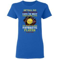 Best Softball Gift Shirt 2021 Softball Dad T Shirt T-Shirt 39 of Sapelle