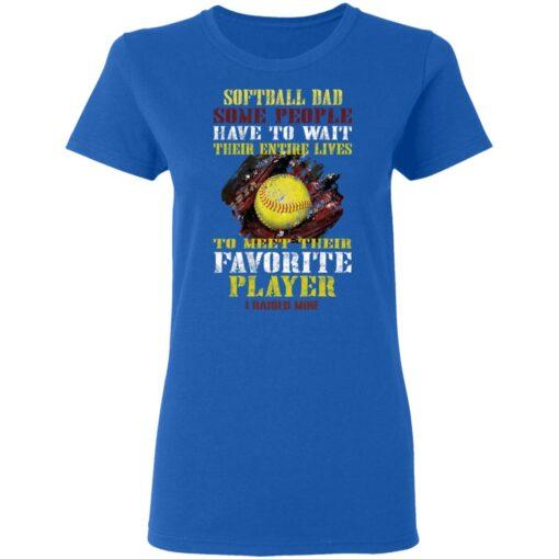 Best Softball Gift Shirt 2021 Softball Dad T Shirt T-Shirt 14 of Sapelle