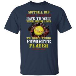 Best Softball Gift Shirt 2021 Softball Dad T Shirt T-Shirt 21 of Sapelle
