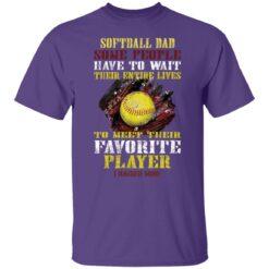 Best Softball Gift Shirt 2021 Softball Dad T Shirt T-Shirt 23 of Sapelle