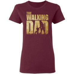 Best Funny Gift For Fathers Day 2021 The Walking Dad T Shirt 2 T-Shirt 33 of Sapelle