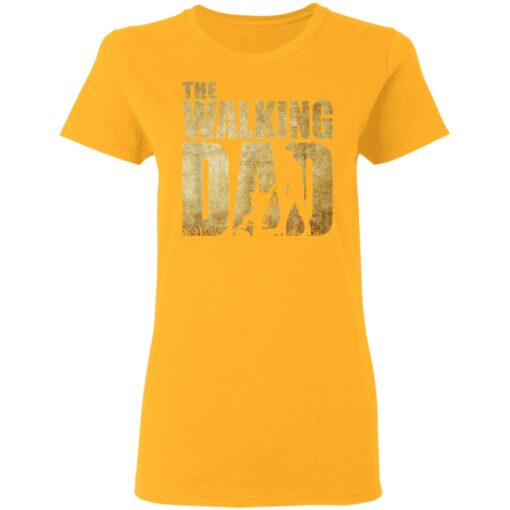 Best Funny Gift For Fathers Day 2021 The Walking Dad T Shirt 2 T-Shirt 10 of Sapelle
