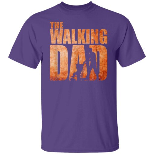Best Funny Gift For Fathers Day 2021 The Walking Dad T Shirt 3 T-Shirt 6 of Sapelle