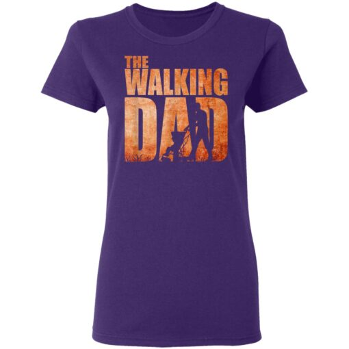Best Funny Gift For Fathers Day 2021 The Walking Dad T Shirt 3 T-Shirt 13 of Sapelle