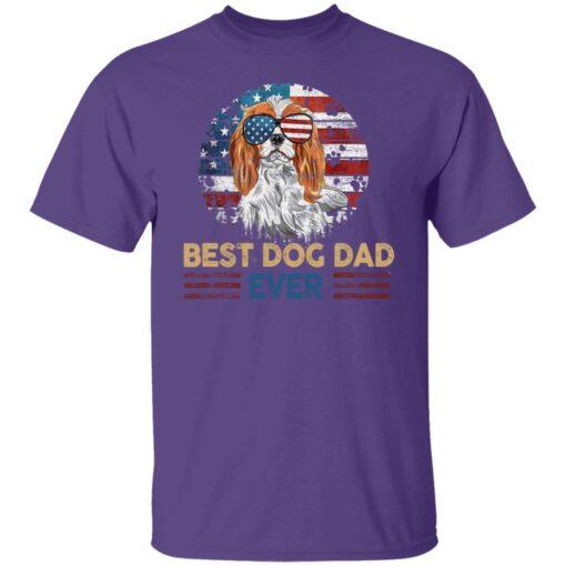Gift For Dog Lover, Best Dog Dad Ever T-Shirt 6 of Sapelle