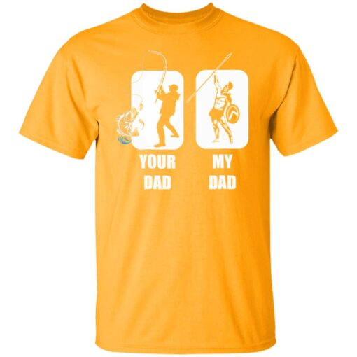 Funny Fathers Day Gift, My Dad Your Dad Champion T-Shirt 3 of Sapelle