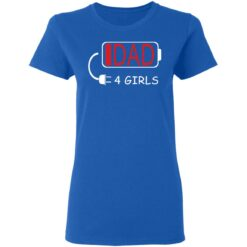 Best Fathers Day Gift Ideas Dad Of 4 Girls T-Shirt 39 of Sapelle