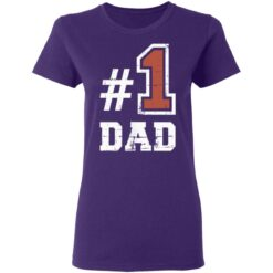 Best Number One Dad Gift 2021 1 Dad T-Shirt 37 of Sapelle