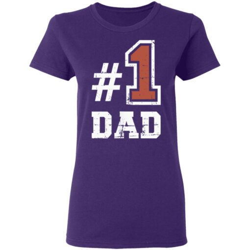 Best Number One Dad Gift 2021 1 Dad T-Shirt 13 of Sapelle