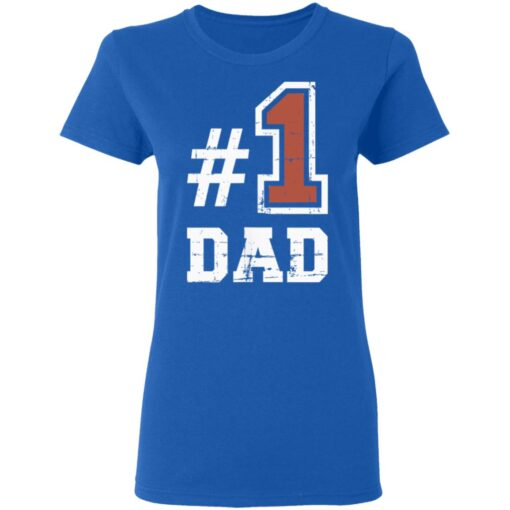 Best Number One Dad Gift 2021 1 Dad T-Shirt 14 of Sapelle