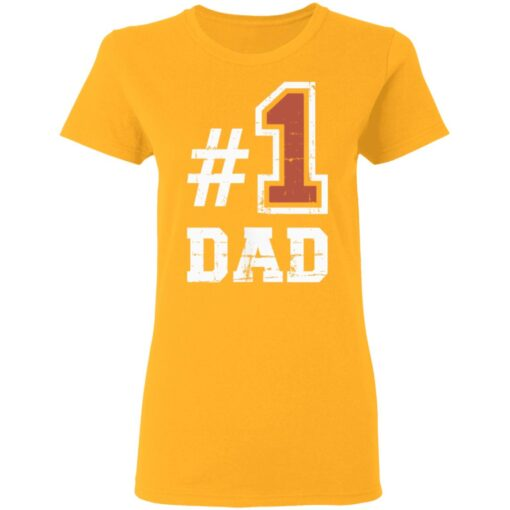 Best Number One Dad Gift 2021 1 Dad T-Shirt 10 of Sapelle