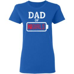 Best Fathers Day Gift Ideas Dad Of 2 Girls T-Shirt 39 of Sapelle