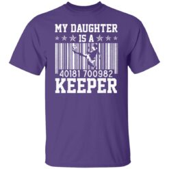 Best Soccer Dad Gifts 2021, Soccer Dad Daughter Goal Keeper T-Shirt 23 of Sapelle