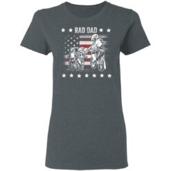 Best Funny Dad Son Gift 2021, Motorbike Rad Dad With American Flag T-Shirt 29 of Sapelle