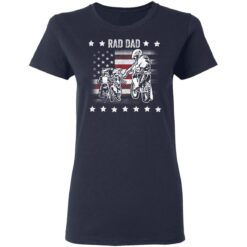 Best Funny Dad Son Gift 2021, Motorbike Rad Dad With American Flag T-Shirt 35 of Sapelle