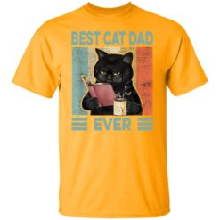 Best Funny Gift For Cat Lover 2021, Best Dad Ever T-Shirt 17 of Sapelle