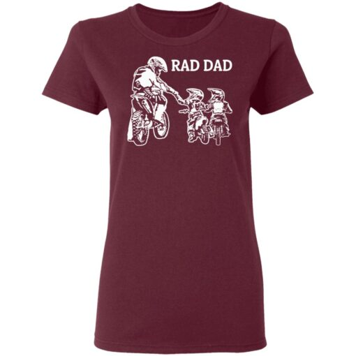 Best Funny Dad Son Gift 2021, Motorbike Rad Dad T-Shirt 11 of Sapelle