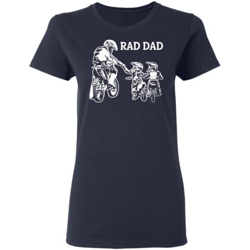 Best Funny Dad Son Gift 2021, Motorbike Rad Dad T-Shirt 12 of Sapelle